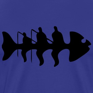 fish fishing T-Shirts - Men's Premium T-Shirt