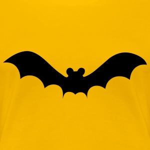 bat halloween T-Shirts - Frauen Premium T-Shirt