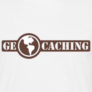 Geocaching - 2colors - Mannen T-shirt