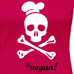 cannibal cook vector T-Shirts - Frauen Premium T-Shirt