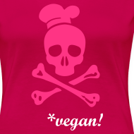 Motiv ~ WOMENS Shirt 'CANNIBAL COOK vegan' PW