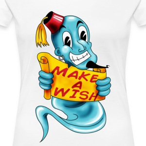 make a wish - T-shirt Premium Femme