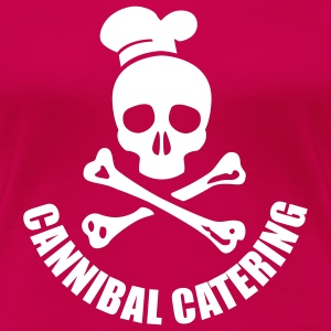 cannibal catering vector T-Shirts - Frauen Premium T-Shirt