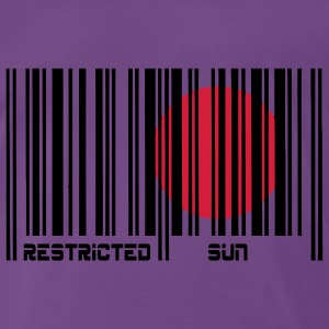 Restricted Sun, Restricted Sun, barcode. T-Shirts - Men's Premium T-Shirt