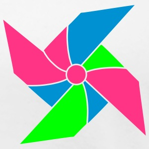 colorful pinwheel T-Shirts - Women's Premium T-Shirt