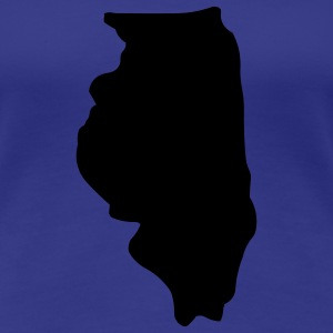State of Illinois T-Shirts - Women's Premium T-Shirt