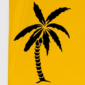 Palm Tree - Summer T-shirts - Herre premium T-shirt