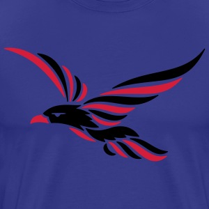 tribal raven 2c T-Shirts - Men's Premium T-Shirt