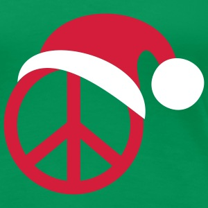 PEACE for CHRISTMAS | Frauenshirt XXXL - Frauen Premium T-Shirt