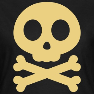 poison skull halloween T-Shirts - Frauen T-Shirt