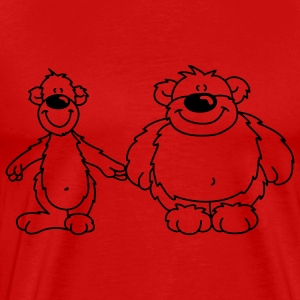 Two bears T-Shirts - Men's Premium T-Shirt