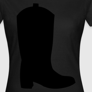 Cowboay Støvler Western Boots T-shirts - Dame-T-shirt