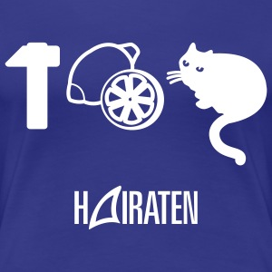 HAIRATEN - Frauen Premium T-Shirt