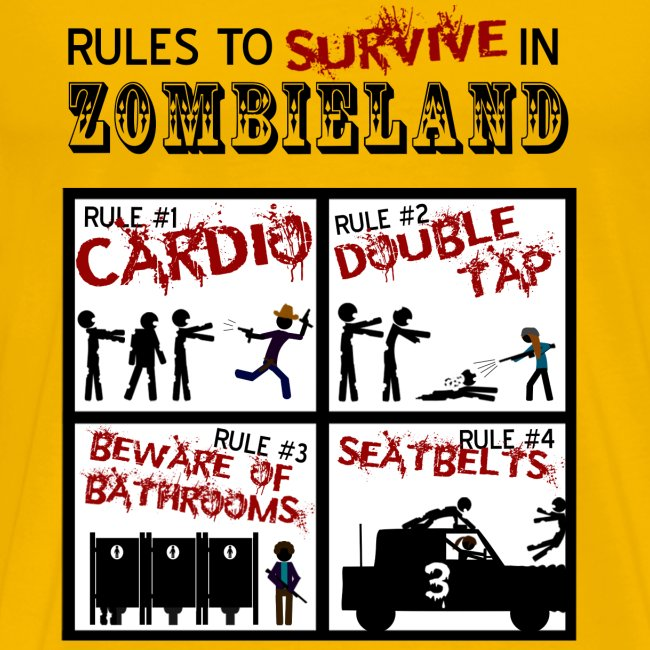 Zombieland - rules to survive