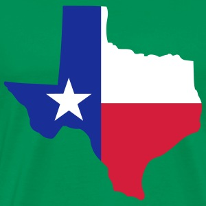State of Texas T-Shirts - Men's Premium T-Shirt