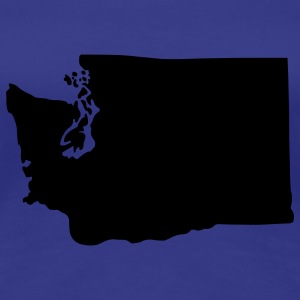 State of Washington T-Shirts - Women's Premium T-Shirt