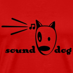 Sound-Dog T-shirts - T-shirt Premium Homme