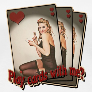 Play cards with me? - Frauen Premium T-Shirt