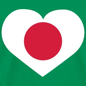 Love Japan | Heart | Herz T-Shirts - Premium-T-shirt herr