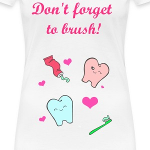 dental care - Women's Premium T-Shirt