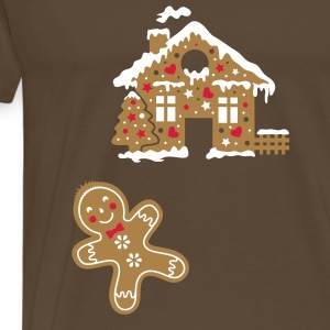 yummy funny gingerbread man T-Shirts - Men's Premium T-Shirt