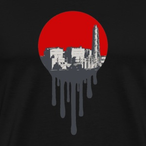 Fukushima - Meltdown  - Men's Premium T-Shirt