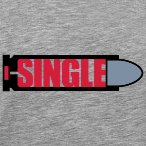 Single | Bullet | Patrone T-Shirts - Men's Premium T-Shirt