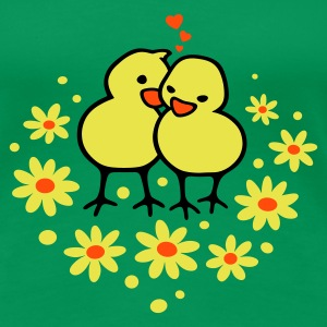 Chicks in Love T-shirts - Premium-T-shirt dam