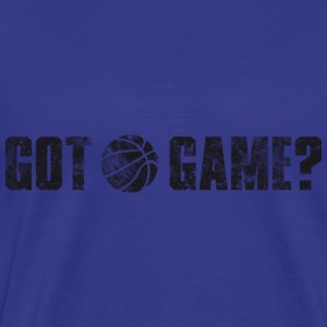 Basketball Got Game? (used look) T-Shirts - Männer Premium T-Shirt