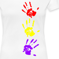 Diseño ~ Manos tricolor