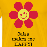 Design ~ Salsa makes me HAPPY