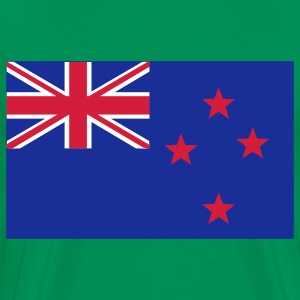 new zealand flag T-skjorter - Premium T-skjorte for menn