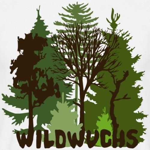 Wald Natur Baum Bäume Wild wildwuchs