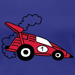 Red Racing Car T-shirts - Vrouwen Premium T-shirt