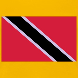 trinidad and tobago flag T-shirts - Premium-T-shirt dam
