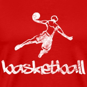 Basketball Dunk (used look) - Männer Premium T-Shirt