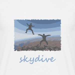 Skydive Sitflyers - Men's T-Shirt