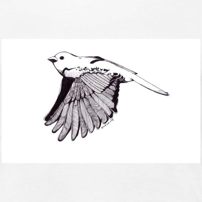 Little Monochrome Bird Ladies