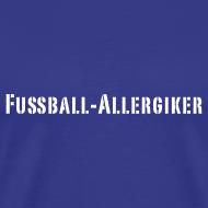 Motiv ~ Fußball Allergiker | Männer Shirt