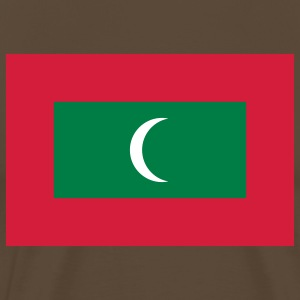 maldives flag T-Shirts - Men's Premium T-Shirt