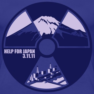 help for japan - Frauen Premium T-Shirt