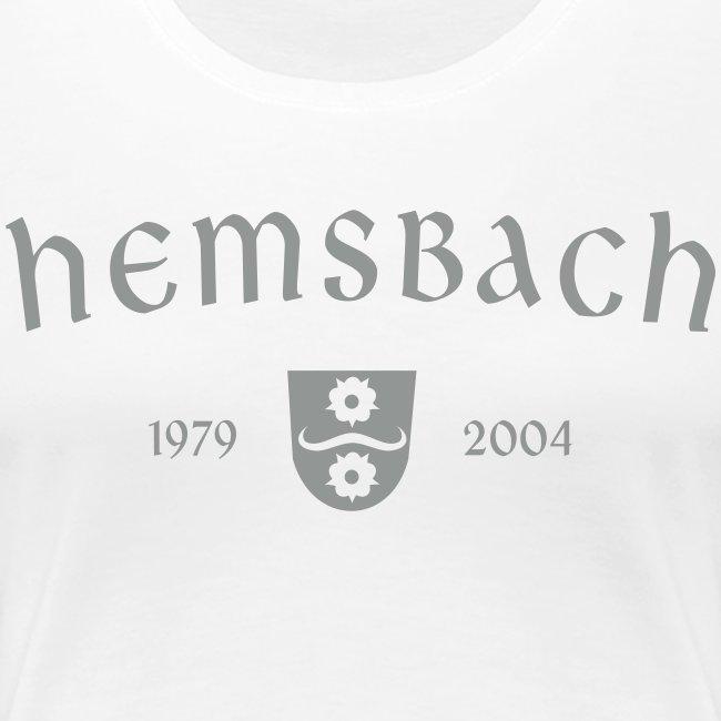 Girlieshirt Hemsbach Wappen Oldschool