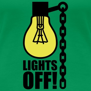 Lights off | Light bulb T-Shirts - T-shirt Premium Femme