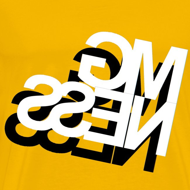 MGness DoubleLogo Yellow classic
