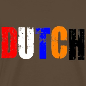 Colourful Dutch T-shirts - Mannen Premium T-shirt