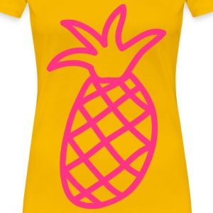 obst__ananas_1c T-shirts - T-shirt Premium Femme