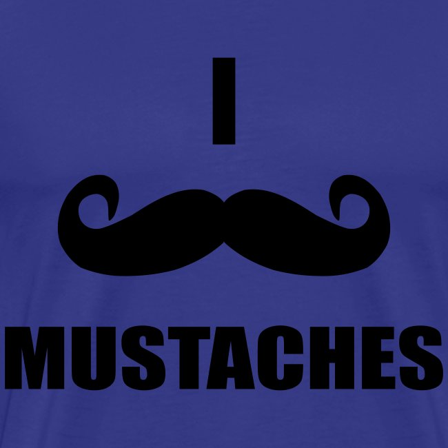 MUSTACHES! Male
