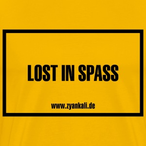 Lost in Spass - Männer Premium T-Shirt