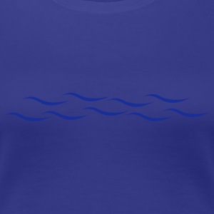 Waves T-Shirts - Women's Premium T-Shirt