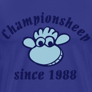 Championsheep used look T-shirts - Mannen Premium T-shirt